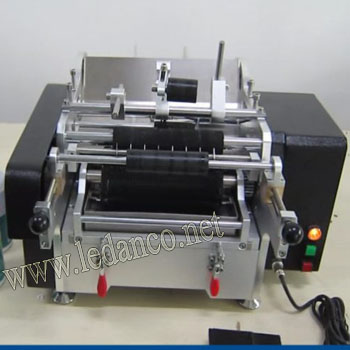LD03 wet glue labeling machine semi automatic