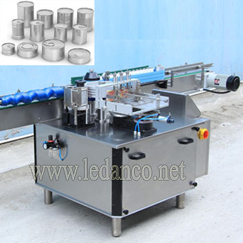 Automatic glue glue labeling machine for cans