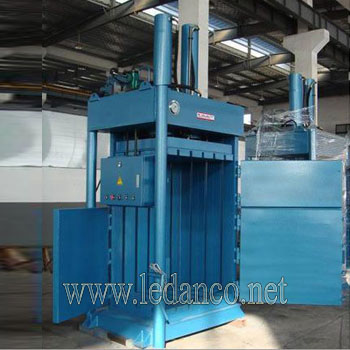 Scrap paper press machine